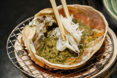 甲羅味噌焼き