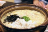 蟹味噌雑炊